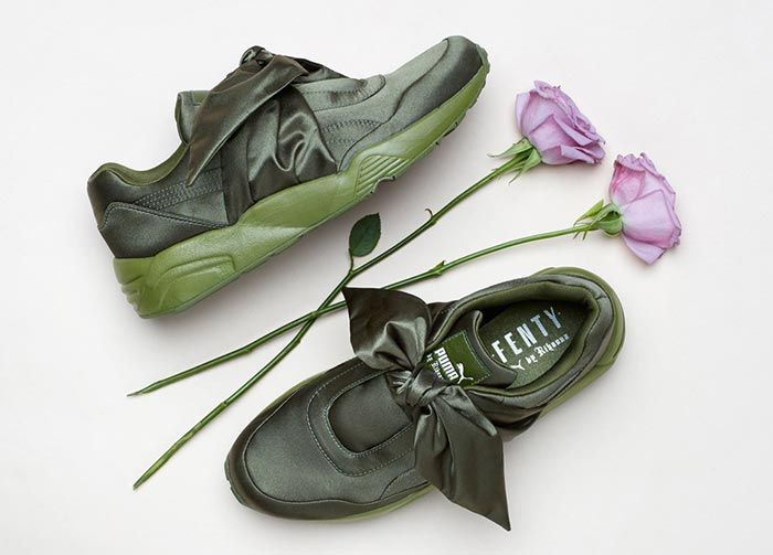 536b1462cacd Forget the Creepers! Rihanna s Fenty x Puma Bow Sneakers and Slides Are The  It-